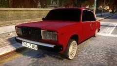 VAZ 2107 Forever Azerbaijan для GTA 4