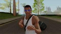 Franklin Clinton Robber Style GTA V для GTA San Andreas
