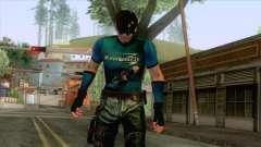 Masked Leon Skin v4 для GTA San Andreas
