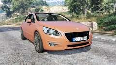 Peugeot 508 GT 2010 v1.1 [replace] для GTA 5