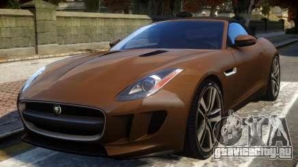 2014 Jaguar F-Type (EPM) для GTA 4