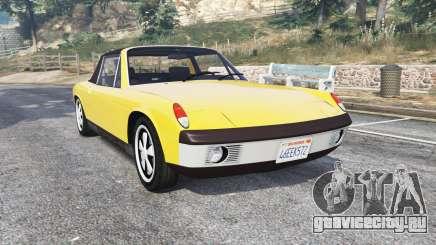 Porsche 914-6 1970 v1.1 [replace] для GTA 5