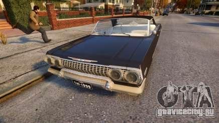 Chevrolet Impala 1964 Low rider для GTA 4