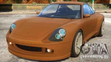 Comet to Porsche для GTA 4