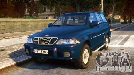 1999 Daewoo Musso HI-DLX для GTA 4