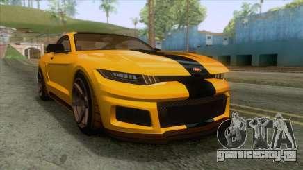 GTA 5 - Vapid Dominator GT350R IVF для GTA San Andreas