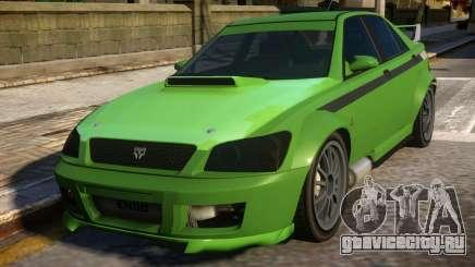All New Karin Sultan RS GTA IV для GTA 4