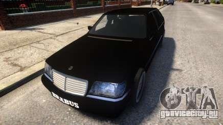Mercedes Benz W140 Brabus для GTA 4