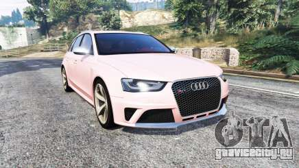 Audi RS 4 Avant (B8) 2013 [replace] для GTA 5