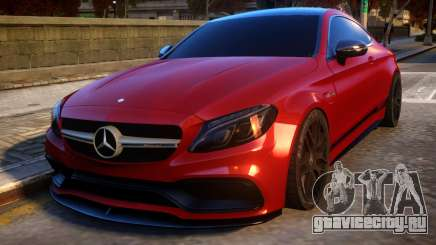 Mercedes-Benz AMG C63S Coupe для GTA 4