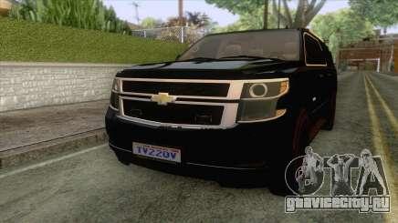 Chevrolet Suburban FBI 2015 для GTA San Andreas