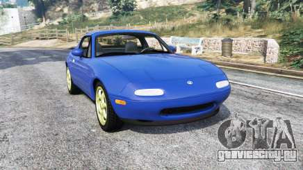 Mazda MX-5 (NA) 1997 v1.1 [replace] для GTA 5