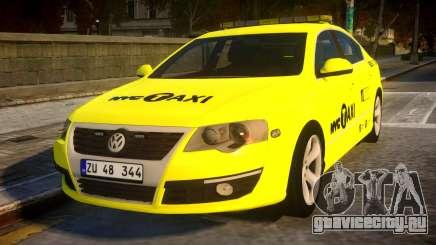 Volkswagen Passat B6 Sedan - NYC TAXI для GTA 4