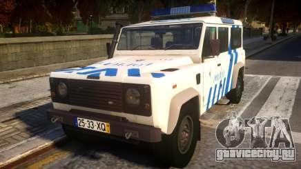 Land Rover Defender Police для GTA 4