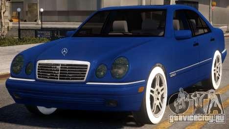 Mercedes-Benz E420 W210 v2 для GTA 4