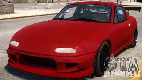 Mazda MX-5 Red для GTA 4