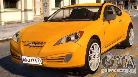 Hyundai Genesis Coupe для GTA 4