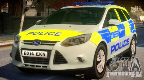 Police Ford Focus Estate IRV для GTA 4