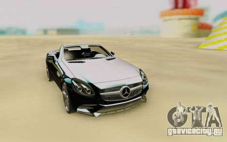 Mercedes-Benz SLC 300 для GTA San Andreas