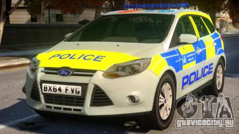 Police Ford Focus Estate IRV V.1 для GTA 4