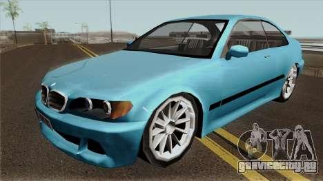 BMW E46 Low-Poly для GTA San Andreas