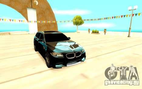 BMW M5 F11 для GTA San Andreas вид слева