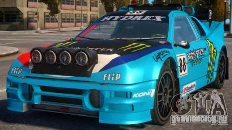 Ford RS200 Evolution Rallycross V.1.3 для GTA 4