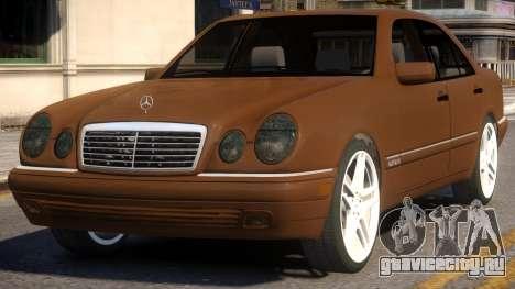 Mercedes-Benz E420 W210 v1 для GTA 4