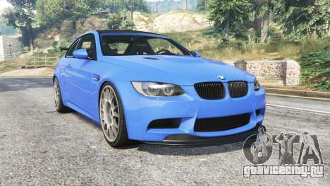 BMW M3 GTS (E92) 2010 BBS rims [add-on] для GTA 5