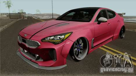 Kia Stinger GT Wide Body Kit 2018 для GTA San Andreas