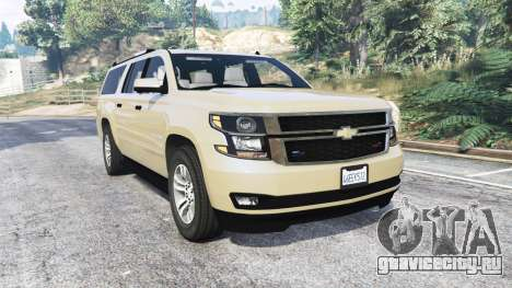 Chevrolet Suburban Unmarked Police [replace] для GTA 5