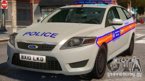 Ford Mondeo Dog Section Metropolitan Police для GTA 4