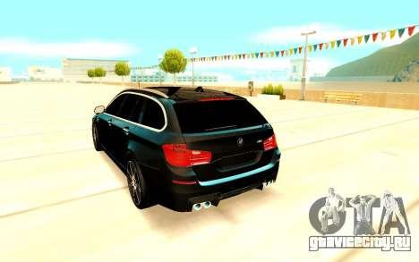 BMW M5 F11 для GTA San Andreas вид справа