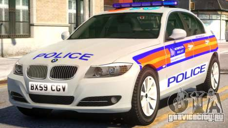 BMW M3 Series Saloon Area Car Slogan Version для GTA 4