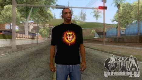 Gucci Angry Cat T-Shirt Black для GTA San Andreas