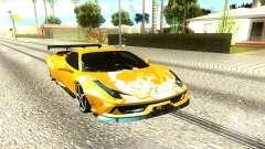 Ferrari 458 Italia Sport для GTA San Andreas
