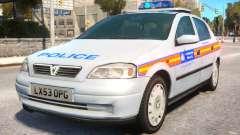 Met Police 2004 Astra Mk4 для GTA 4