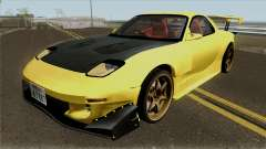 Initial D FD3S Takahashi Keisuke Fifth Stage для GTA San Andreas
