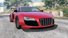 Audi R8 GT 2010 LibertyWalk [replace] для GTA 5