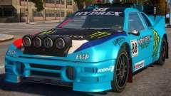 Ford RS200 Evolution Rallycross V.1.3 для GTA 4