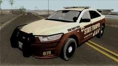 Ford Taurus 2013 Bone County Police для GTA San Andreas
