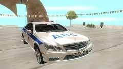 Mercedes-Benz C63 AMG белый для GTA San Andreas