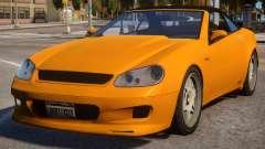 Feltzer to Mercedes SL 65 AMG для GTA 4