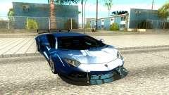Lamborghini Aventador LP700-4 Luxury для GTA San Andreas