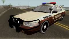 Ford Crown Victoria 2011 Bone County Police для GTA San Andreas