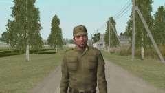 Боец в Афганке для GTA San Andreas