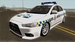 Mitsubishi Lancer Evolution X Malaysia Police для GTA San Andreas