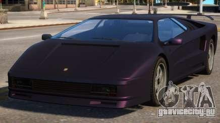 Pegassi Infernus Pop-Up Lights Down для GTA 4