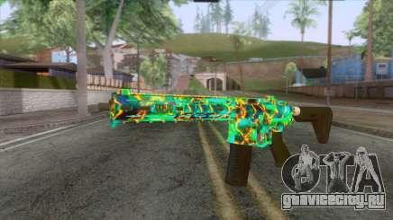 Gunrunning Carbine Mk.2 Revelations Camo v1 для GTA San Andreas