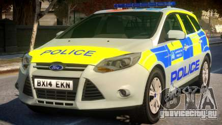 Police Ford Focus Estate IRV для GTA 4